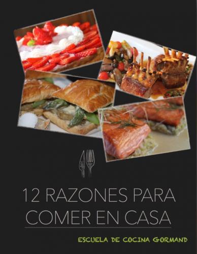 Portada de 12 razones para comer en casa