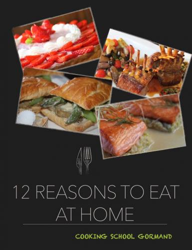 Portada de 12 Reasons to Eat at Home