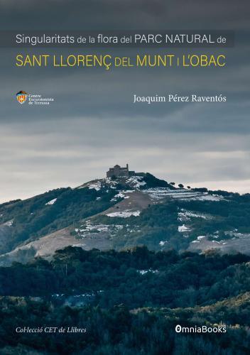 Portada de Singularitats de la flora del Parc Natural de Sant Llorenç del Munt i l'Obac