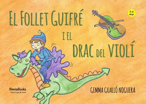 Portada de El follet Guifré i el drac del violí
