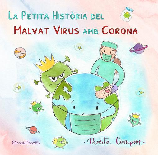 Portada de La petita història del malvat virus amb corona