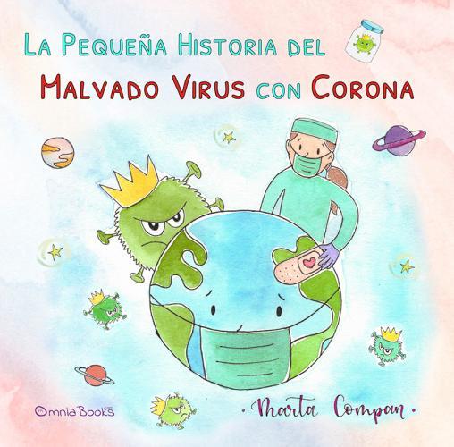 Portada de La pequeña historia del malvado virus con corona