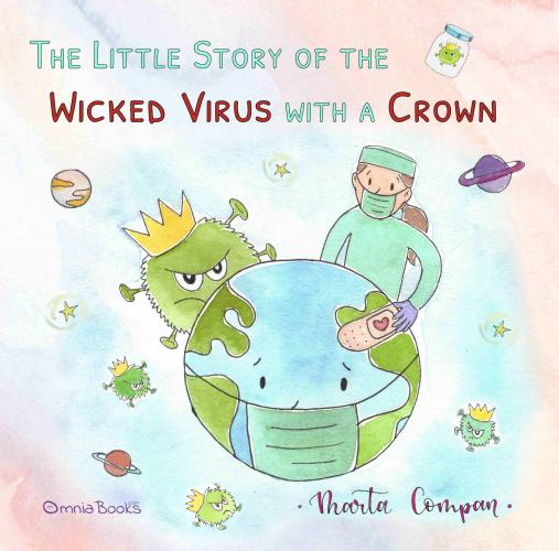 Portada de The little story of the wicked virus with a crown